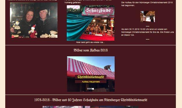 40 Jahre Schatzbude – Aktualisierung der Webseite