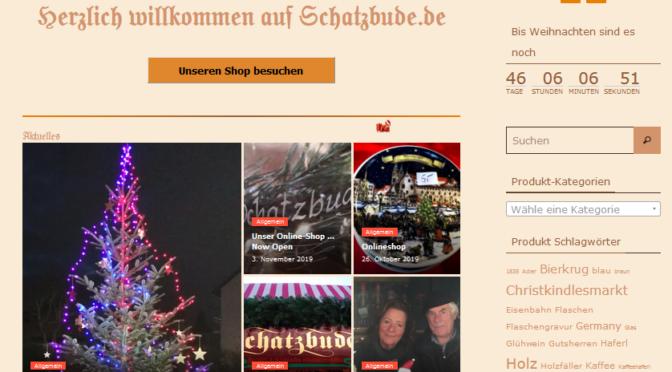 Schatzbude – Relaunch des Shopsystems