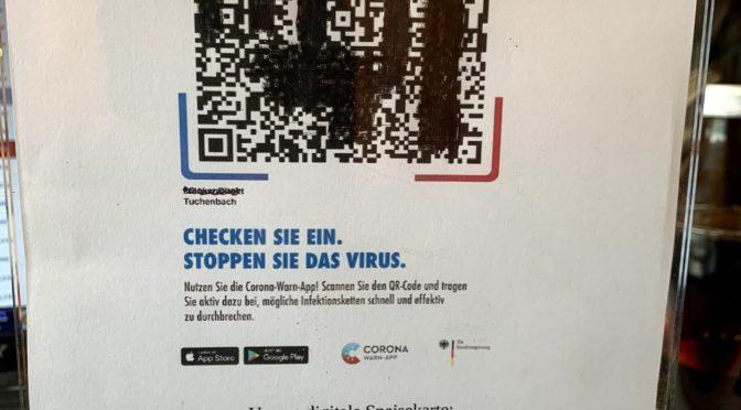 QR-Codes für die CORONA-WARN-App